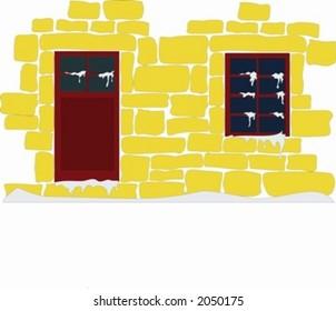 inverno door window