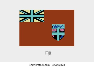 An Inverted Flag of Fiji