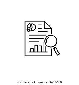 investigate icon vector