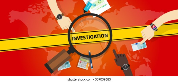 investigation police yellow line business internet crime