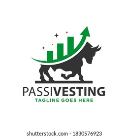 investment bull logo design your company