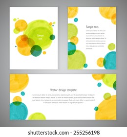 Invitation card design with hand-drawn marker vector spots background. Vector design template for card, letter, banner, menu. Eps10 banner texture background.