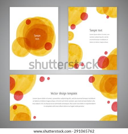 Invitation Card Design Handdrawn Marker Vector Stock Vector Royalty