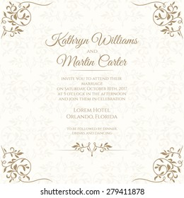 Invitation Card Design Images Stock Photos Vectors Shutterstock