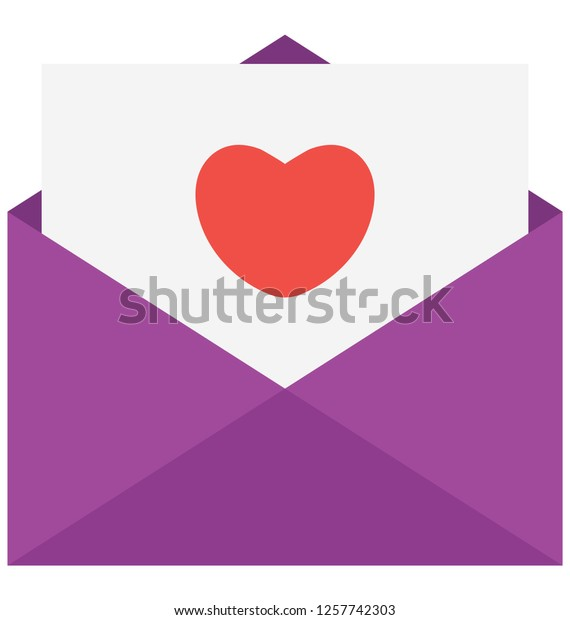 Invitation Card Vector Icon That Can Stock Vector Royalty