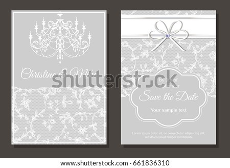 sample invitation card for event