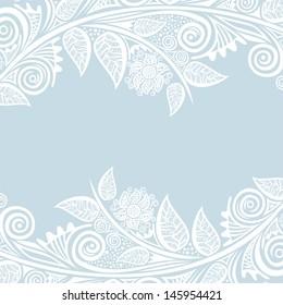 Invitation card wedding vector illustration