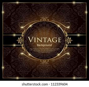 Invitation vintage card