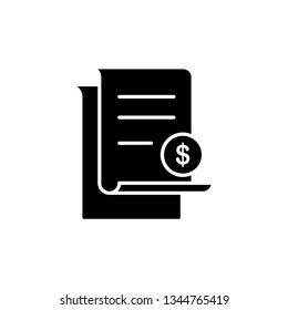 invoice icon template