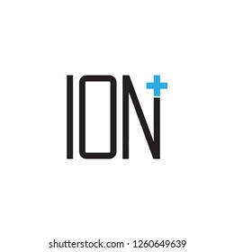 ION plus logo design