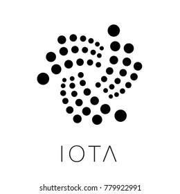 Iota Cryptocurrency Logo