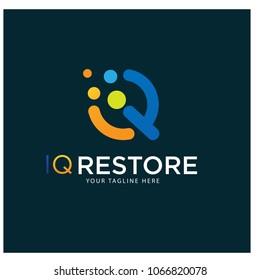 iq restore logo