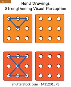 IQ TEST - Visual perception games suitable for all ages - Memory strengthening games and visual perception empowerment games for children - handwriting exercise - Education