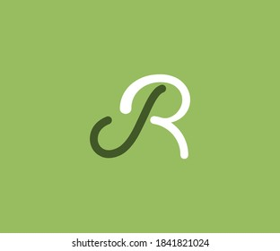 IR Alphabet letter logo design.All design are created for ir or ri .Design are custom changeable.