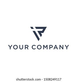 IR Letter triangle logo for multiple business