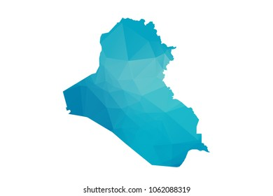 Iraq Map Vector Images Stock Photos Vectors Shutterstock