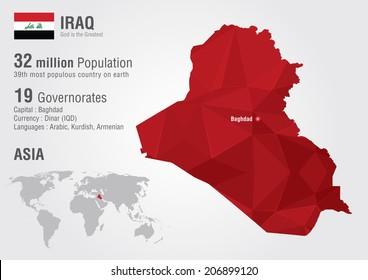 Iraq Map Images, Stock Photos & Vectors | Shutterstock