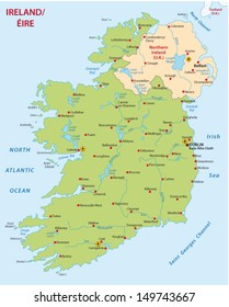 Map Of Ireland England.Ireland Map Images Stock Photos Vectors Shutterstock