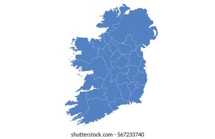 Map Of Ireland On World Map.Ireland Map Images Stock Photos Vectors Shutterstock