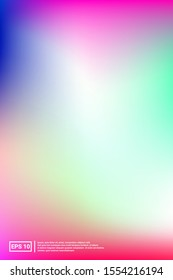 Iridescent, Modern Image. Pastel Colors. Multicolor Screen Iridescent, Soft, Modern Gradients. Saturated, Glow, Party Template. For Web Applications, Mobiles, Screen Template.