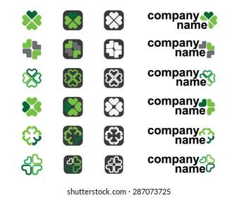 irish clover logo ideas