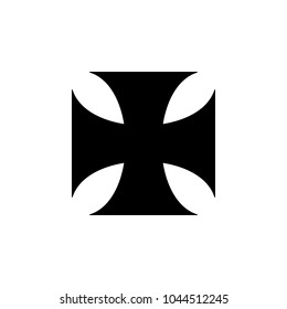 iron Cross icon. Elements of cross icon. Premium quality graphic design. Signs and symbol collection icon for websites, web design, mobile app, info graphics on white background