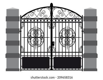 Iron Gate Images, Stock Photos & Vectors | Shutterstock