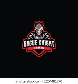 Iron Knight logo mascot