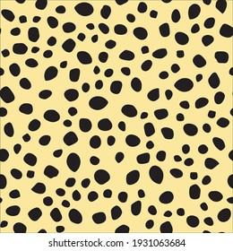 Irregular Cat Pattern. Black Dirty Fur. Graffiti Dot Cheetah Blotter. Dirty Blot. Speckle Polka Blob. Beige Animal Circle. Animal Print. Animal Dirt. Seamless Ink Monochrome. Polkadot Paint Texture
