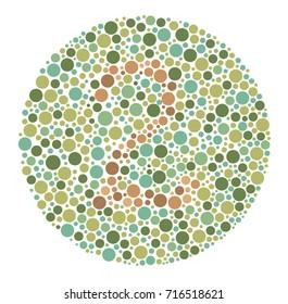 Colour Vision Test Images, Stock Photos & Vectors | Shutterstock