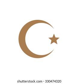 Islam symbol, vector illustration