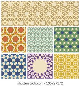Islamic geometrical pattern in eps10 format