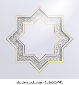 Islamic graphic design.