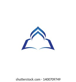 Islamic logo, Mosque icon vector template
