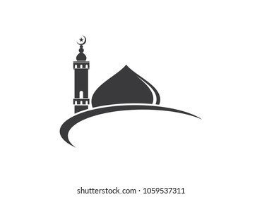 islamic logo images stock photos vectors shutterstock https www shutterstock com image vector islamic mosque logo vector icon template 1059537311