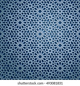 Фотообои Islamic oriental pattern, Abstract vector ornament. Vector muslim background. east culture, indian heritage, arabesque, persian motif, 3D. Can be used for wallpaper, banner, web design, wedding cards