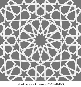 Фотообои Islamic pattern . Seamless arabic geometric pattern, east ornament, indian ornament, persian motif, 3D. Endless texture can be used for wallpaper, pattern fills, web page background .