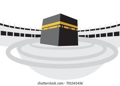 Ilustraciones, imágenes y vectores de stock sobre Mecca Kaba