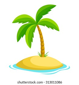 cartoon palm tree images stock photos vectors shutterstock rh shutterstock com palm tree cartoon images cartoon palm tree