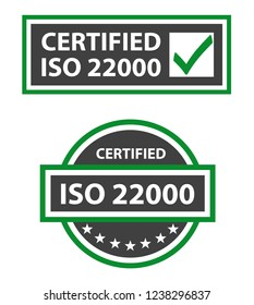ISO 22000 2018 Certified Food Safety Management
