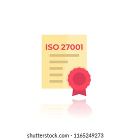 ISO 27001 certificate icon
