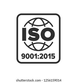 ISO 9001 certified symbol