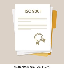ISO 9001 International standard organization on quality management system certification