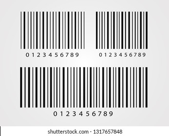 Isolated Barcode on white background. Vector icon