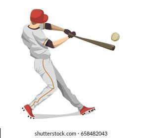 Baseball Player Clipart Images, Stock Photos & Vectors | Shutterstock