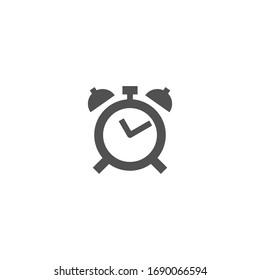 Isolated ClockEmoji, emoticon, flat vector icon