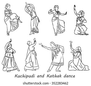 Indian Kathak Images Stock Photos Vectors Shutterstock