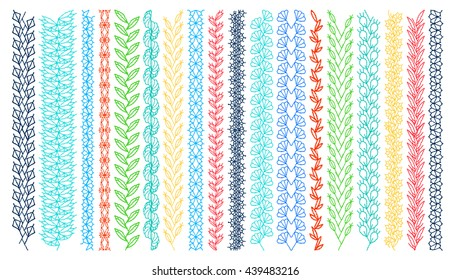 Embroidery Border Images Stock Photos Vectors Shutterstock