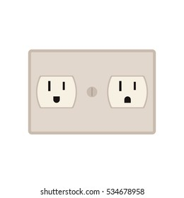 Isolated electric plug design