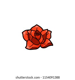 isolated flover vector